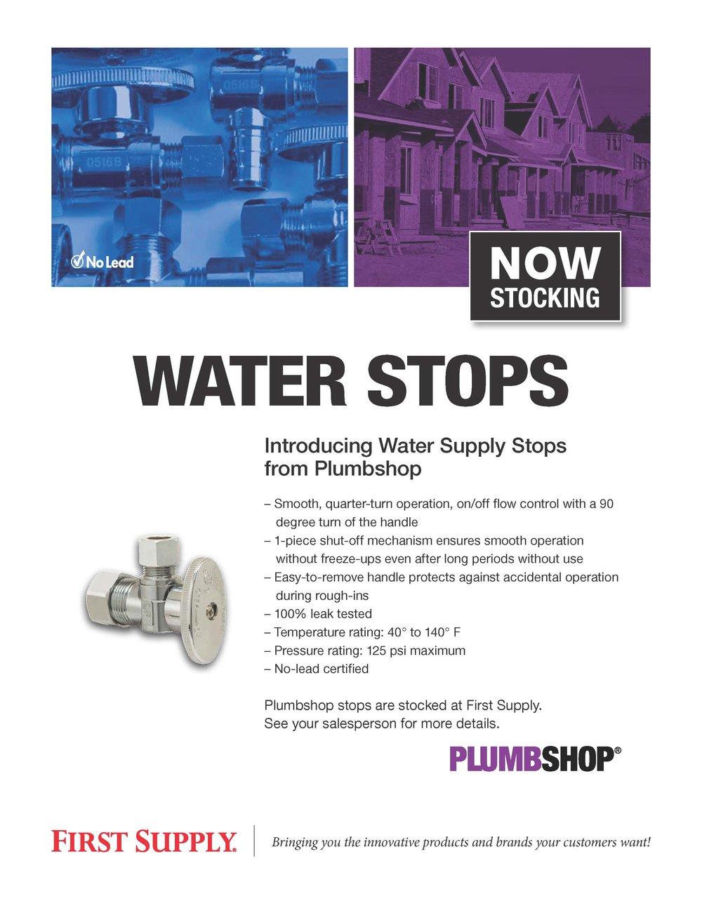 Plumbshop Water Stops [ download pdf ]