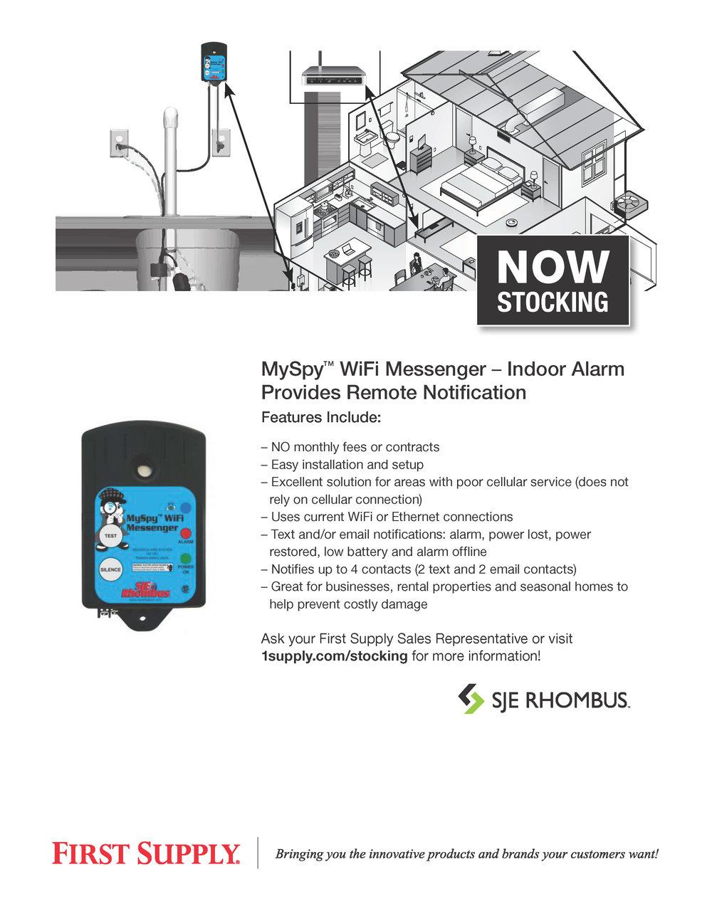SJE-Rhombus MySpy™ WiFi Messenger [ download pdf ]