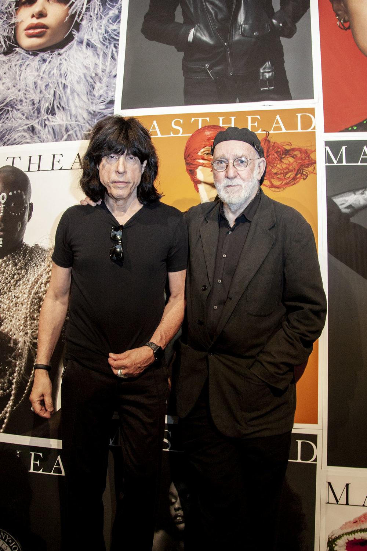 Marky Ramone & Albert Watson