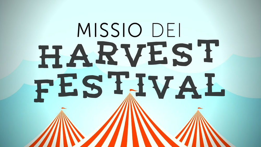 Time to get excited for Missio Dei's second annual Harvest Festival! Mark your calendars for October 27. Keep an ear and eye out for help we'll be needing from  you to pull this off  right !!