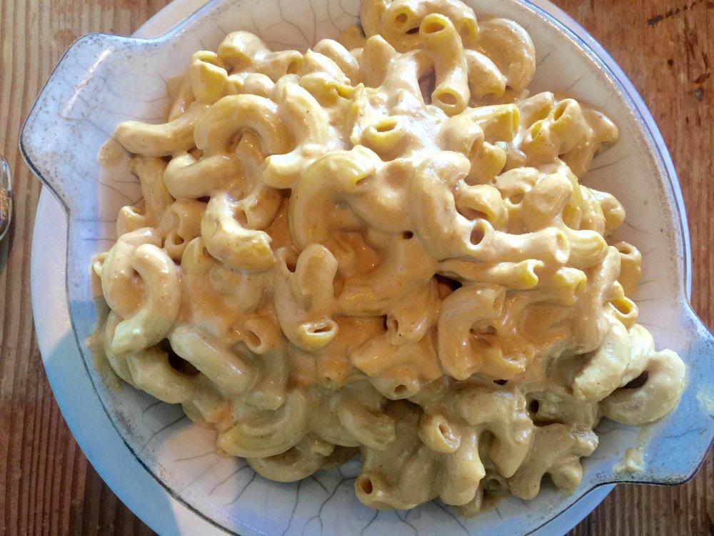 Homeroom mac and cheese, Oakland, vegan food, vegan mac and cheese