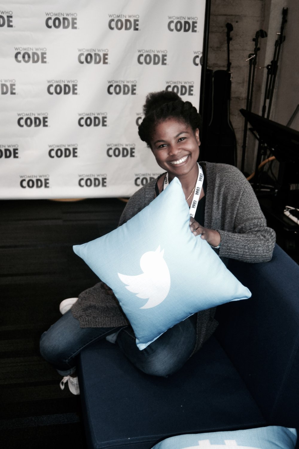 women who code, coding, twitter hq, tech conference