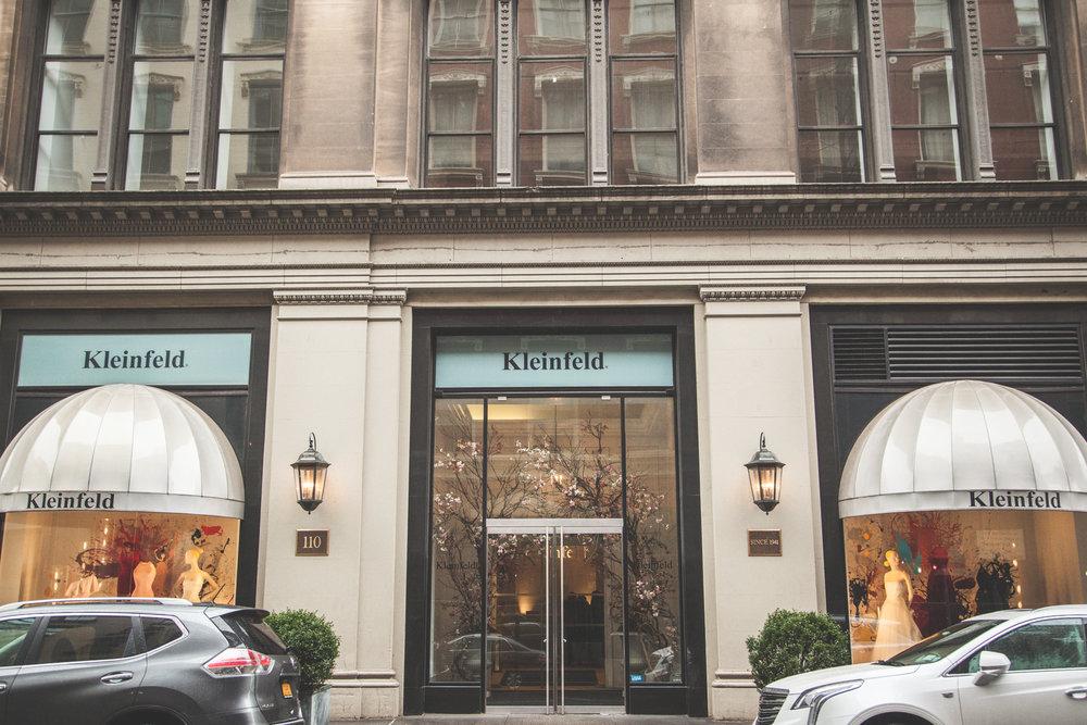Kleinfeld's! -