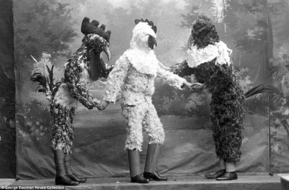 Earliest known photo of Chicken Man