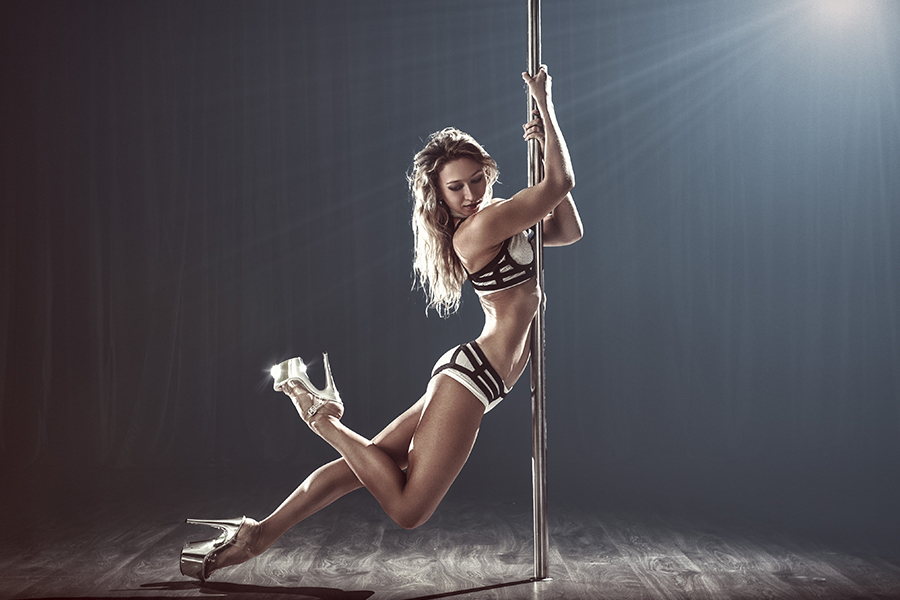 Intro to Pole -  Your introduction to pole starts here. You will get a taste of everything! You'll learn stretches, dance moves, floorwork, basic pole lifts, spins and tricks. We start nice and slow so you can fully understand what Pole Fitness is and what to expect in our classes.  This class is a requirement before you can start the Pole Program.  You can also take this class as many times as needed.