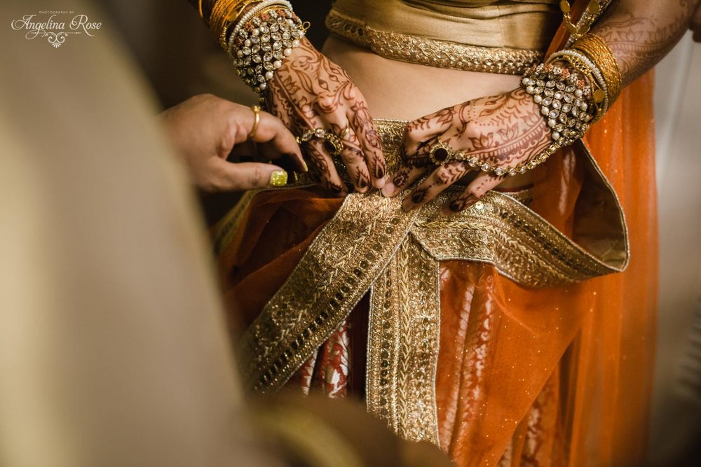 outdoor hindu wedding