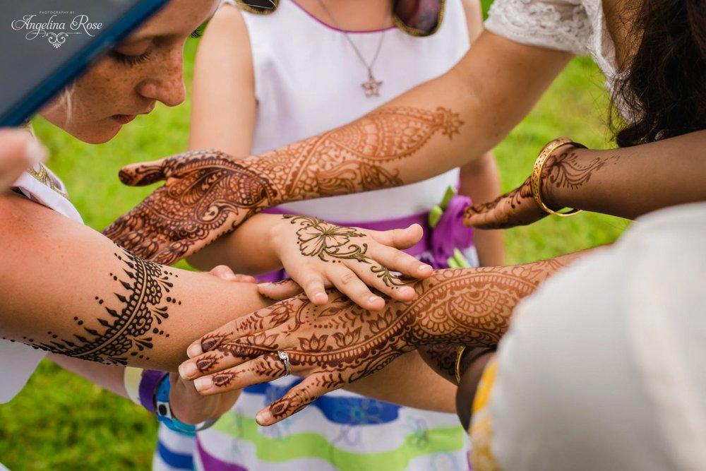henna station hawaii wedding