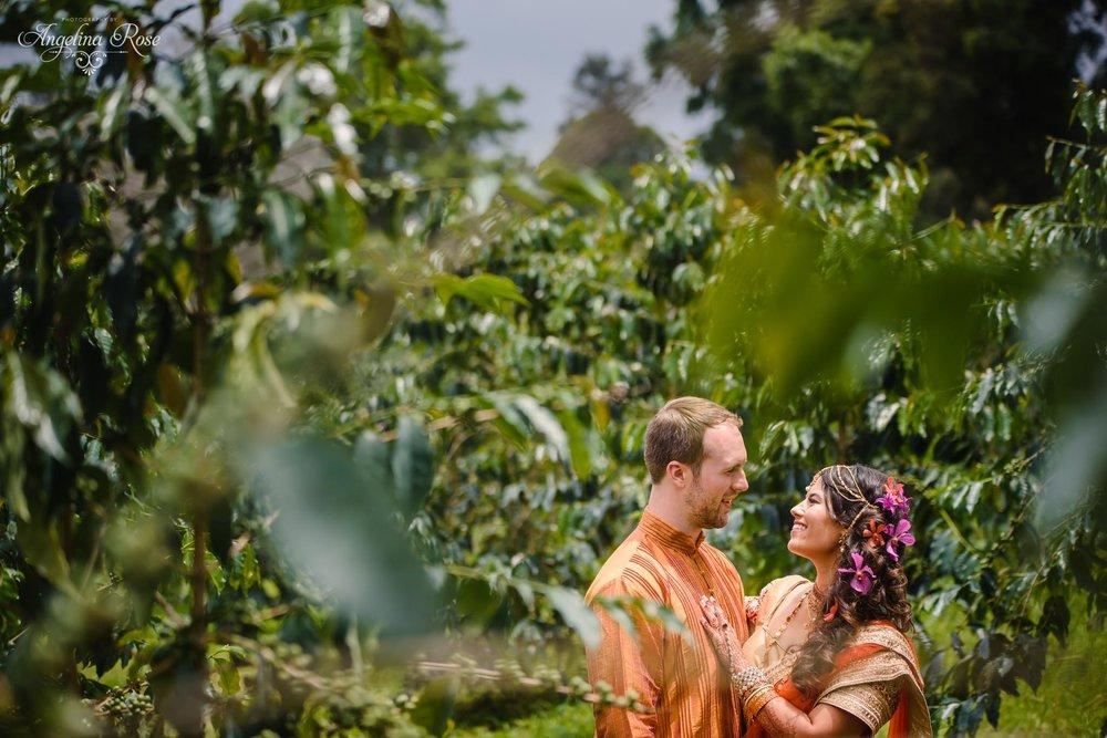 coffee farm wedding