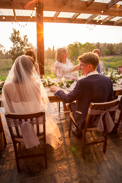 sunshower farms alfresco wedding