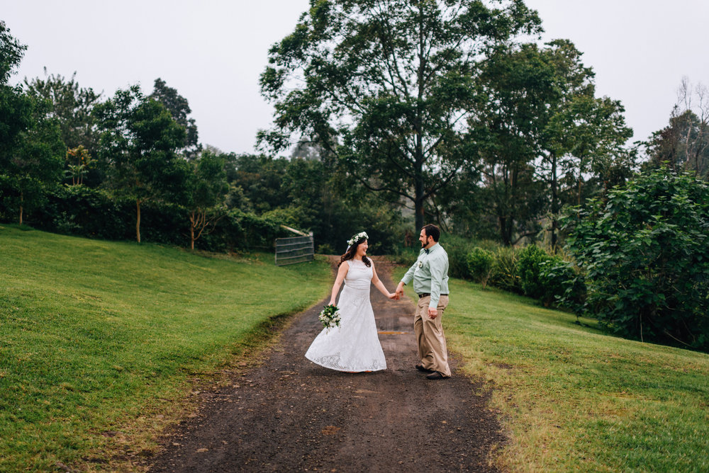coffee farm wedding
