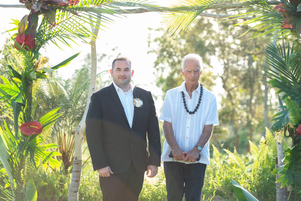 tropical wedding decor hawaii