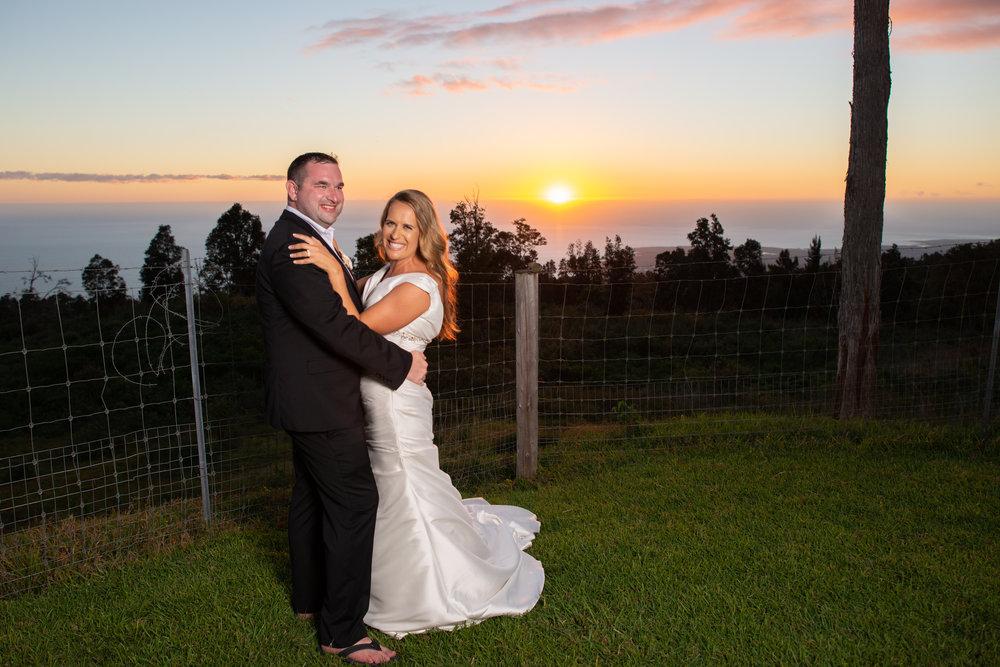 wedding with a view kona