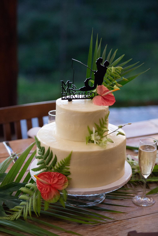 wedding cake hawaii kona