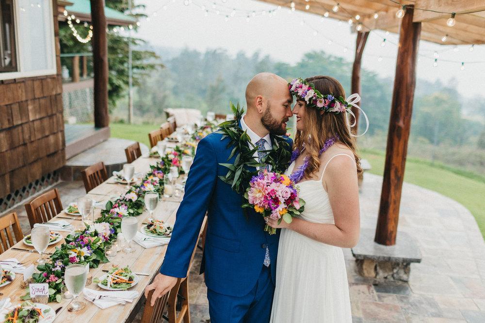 outdoor wedding hawaii