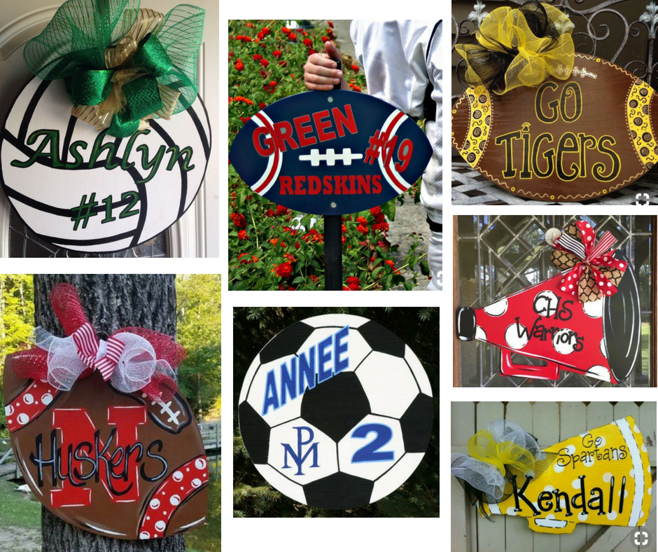 Yard and Door Sports Signs