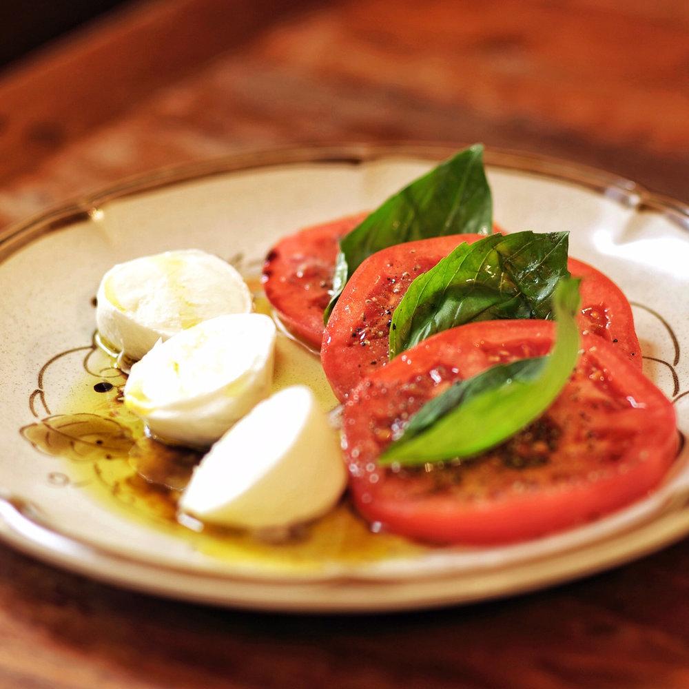 Mozzarella di Bufala Caprese Salad