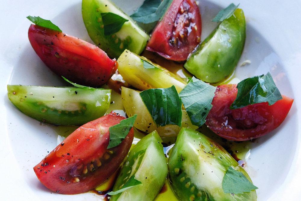The Heirloom Tomato Salad