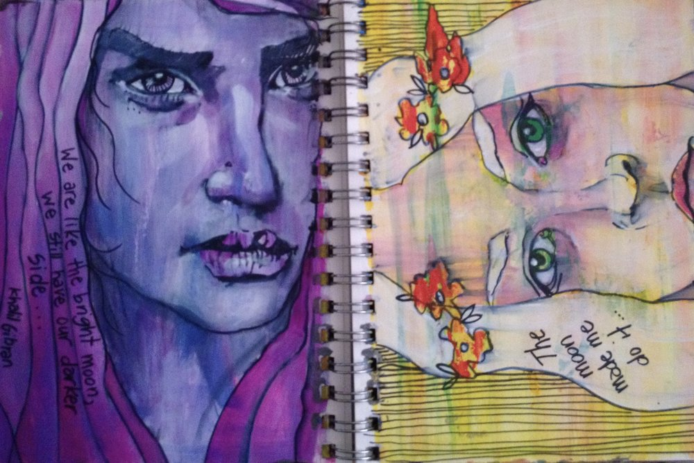 What's great about visual journaling? -