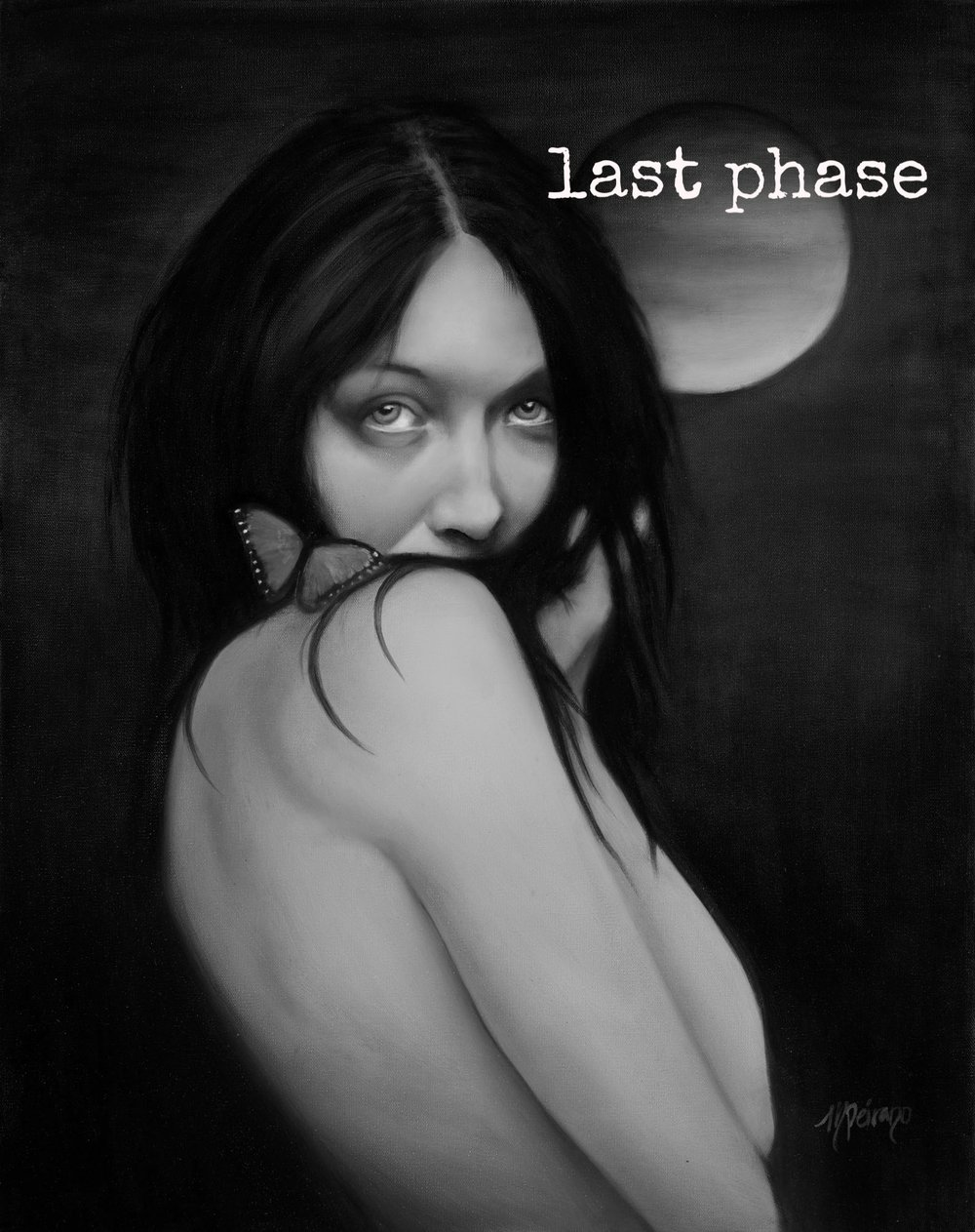 The moon wanesthe time of death nears and the old becomes compost for the newThe dark goddess rules the darkness with her white light and finally rests withinShe will arise to seduce me with precious gift sand I will celebrate -