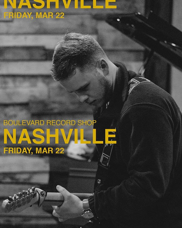 NASHVILLE — we're coming for you this friday at @boulevardrecordshop with the one and only @willixmusic! we are beyond excited to come see y'all, this has been a long time in the making. doors open at 7pm and tix are $5 at the door. see you soon nash vegas 👀
