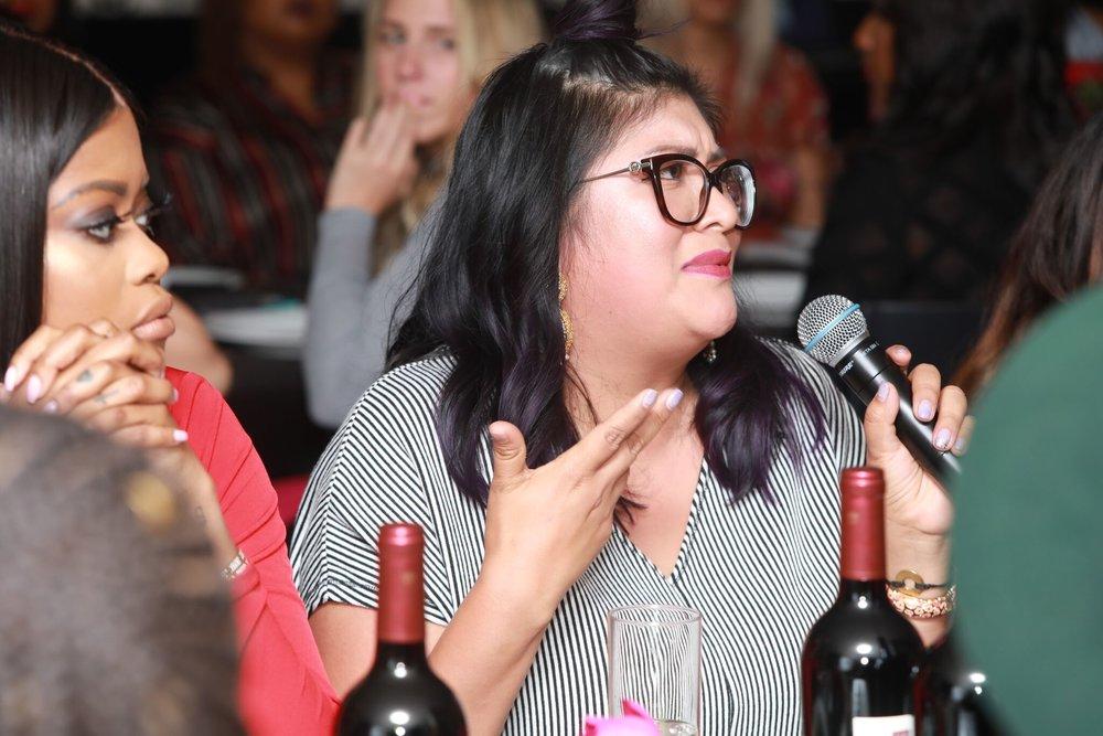 Paulina Lopez, Co- Owner of  Guelaguetza Restaurant