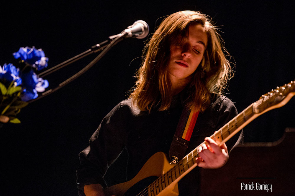 Julien Baker performing at the Columbus Theatre