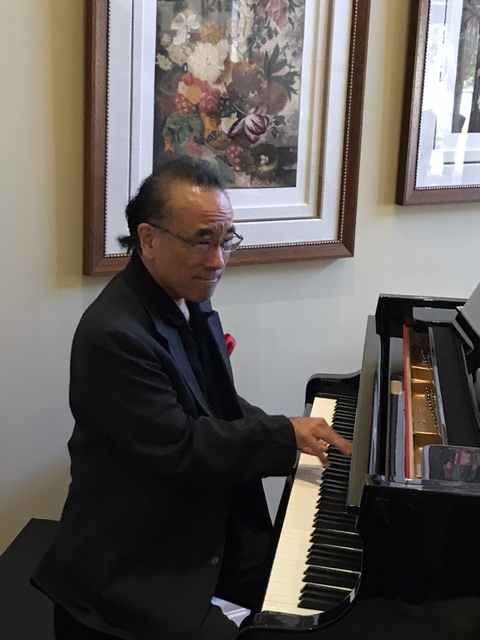 "RON KOBAYASHI - PIANIST - Pianist and composer Ron Kobayashi has performed with a variety of musical artists including Mel Torme, Kenny Burrell, Peter Frampton, Tom Scott, Margaret Whiting, Peter White, Najee, Eric Marienthal and comedian Bob Saget. For five years Ron served as musical director for the Hollywood Diversity Awards where such stars as Chris Rock, Rosario Dawson and George Lopez were honored. Ron has made numerous television appearances including on The Johnny Yune Show, The Jerry Lewis Telethon, The CBS Evening News with Dan Rather, American Stars and with Jackee' Harris on ""Life After"" on the TVONE Network. In 1992 Ron performed for President Bill Clinton.Ron's Trio (with Baba Elefante on bass and Steve Dixon on drums) has been together for more than 25 years playing festivals and clubs throughout California, New York, Florida, Arizona and Nevada. Ron has been a music educator for more than 30 years. He currently teaches at the Orange County High School of the Arts and Vanguard University (both in Orange County, CA)."