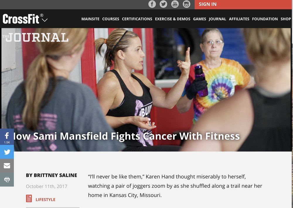 Learn more at  Crossfit.com