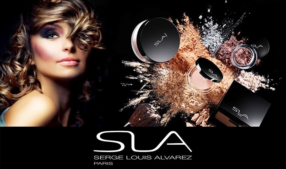 SLA PARIS MAKEUP - This beautiful make up range was created by talented and world renowned Make Up artist Serge Louis Alvarez. For Serge Louis Alvarez, innovation never stops. He has created a professional range of products, where high quality, fore front innovation and natural elements prevail. Seen on high end runways, in theatres and on television we are so excited to stock this luxurious and affordable range. Offering ultra creamy, on trend colour and softer nude lipstick and lip pencils, eye shadows and eyeliners, mascara, and gorgeous blushers, highlighters and bronzers, we can help you on your new make up journey!