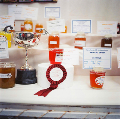 Prize winning jams at Levin A&P show in New Zealand.