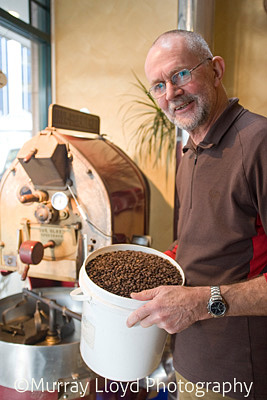 Tony Gibbs of Gibbston Coffee