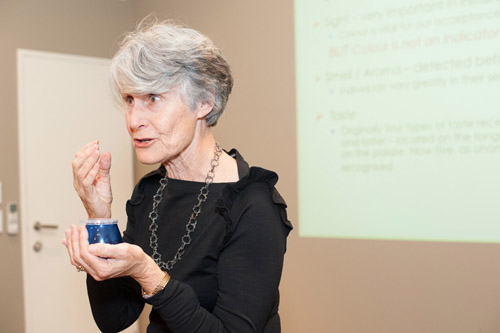 International Olive Oil Judge Margaret Edwards explains how to taste olive oil.