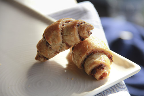 Olive and Parmesan Rugelach.