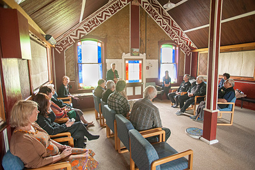 Hangi at Whakarongotai Marae, Waikanae