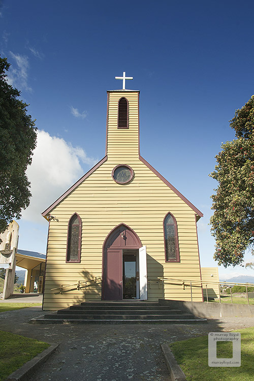 St Mary's Church at Pukekaraka Marae.