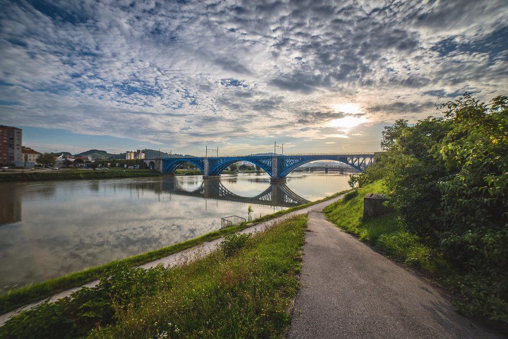 Železniški most   Canon 5D; Samyang lens; avgust 2017