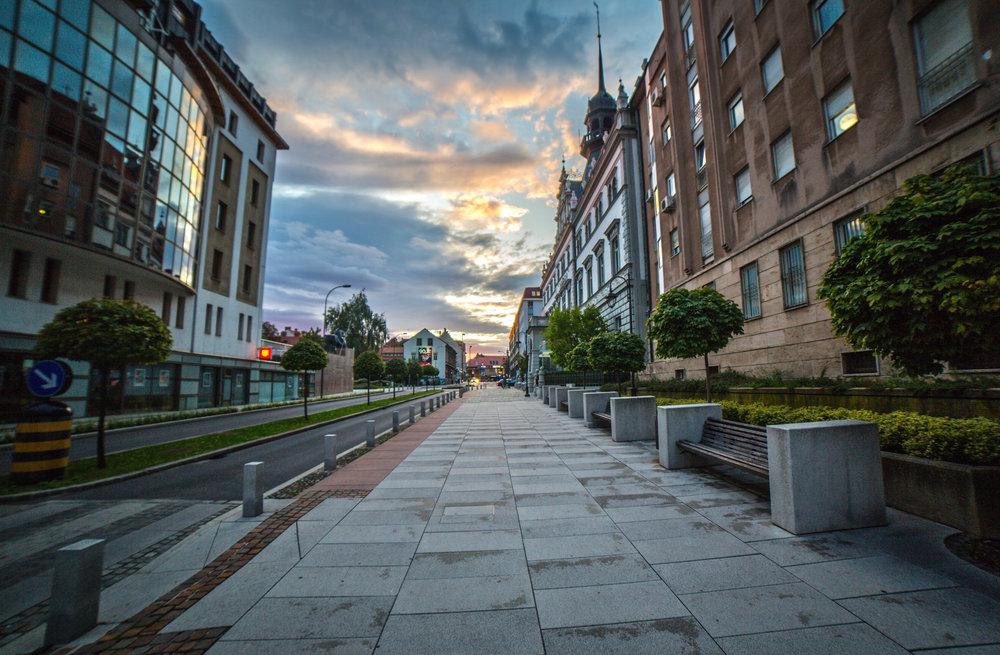 Ulica Kneza Koclja   Canon 5D; Samyang lens; september 2017