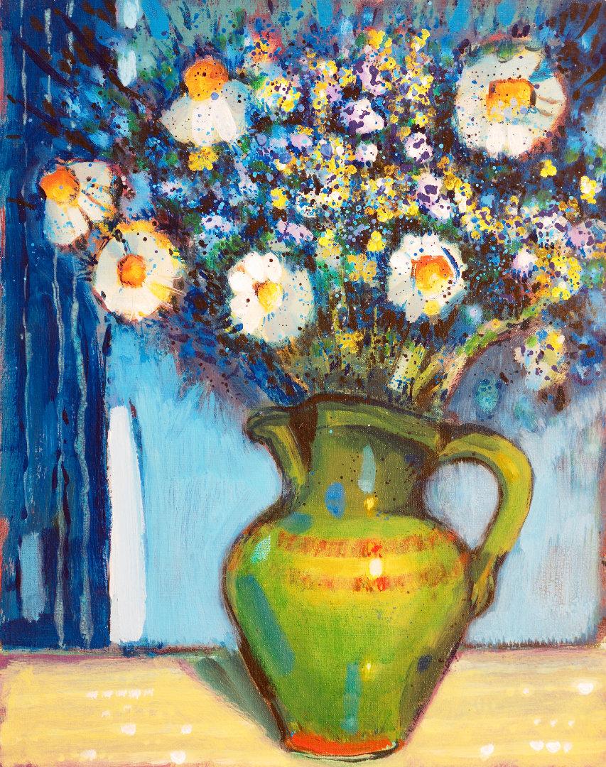 Tihožitje   1982, olje na platnu, 40 x 50 cm