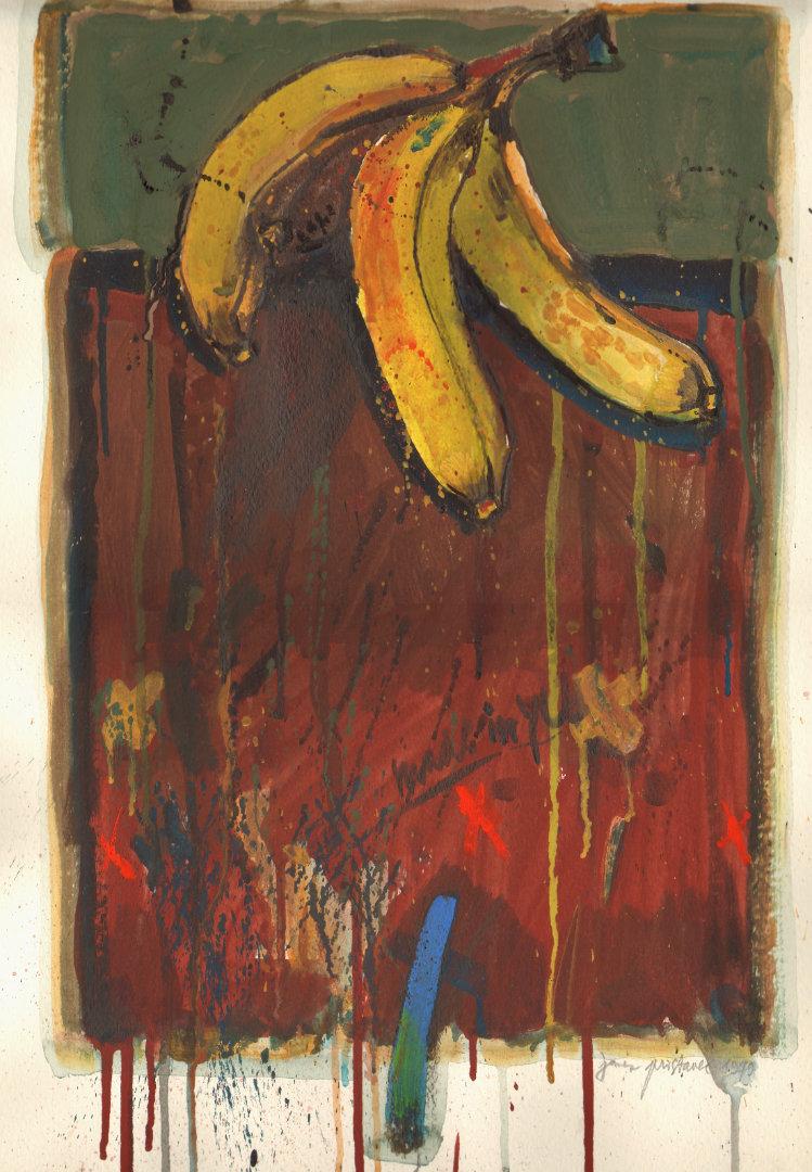 Banane   1979, akvarel na papirju, A3