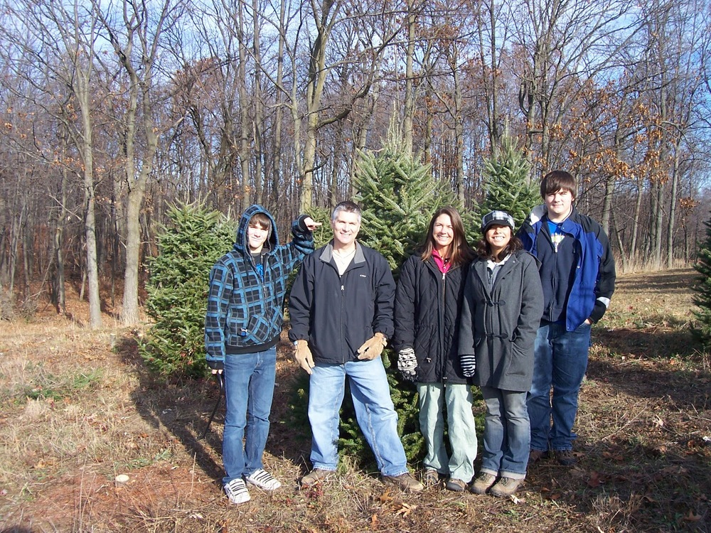 Annual Christmas Tree Trek 2009