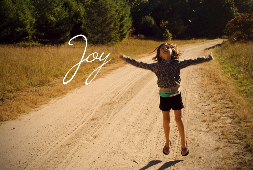 Which comes first Joy or Gratitude?