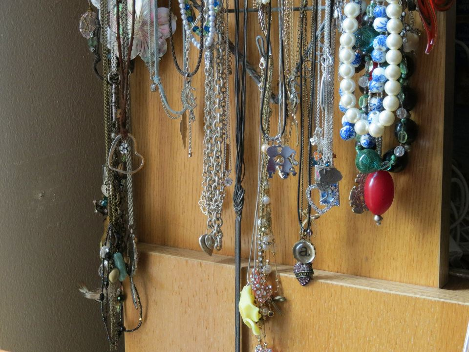 Addie's necklace collection