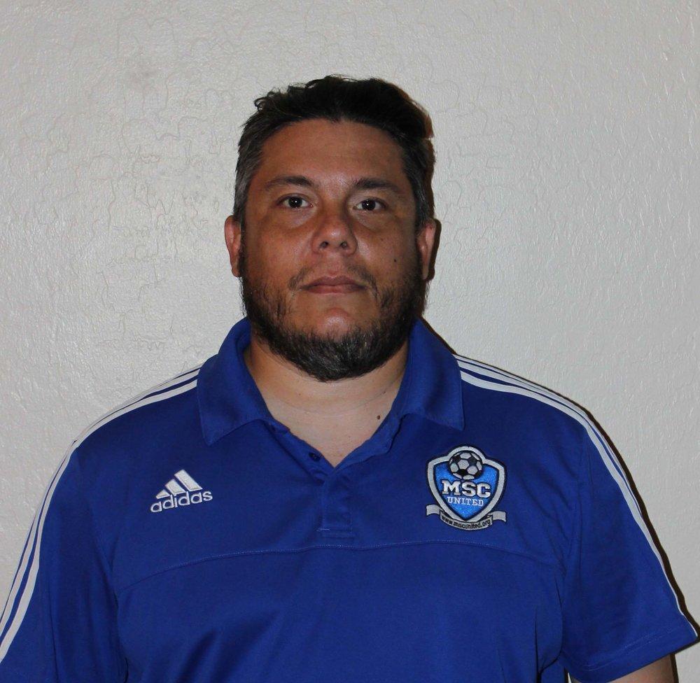 Freddy Solis - 03 Boys CoachContact MSC United