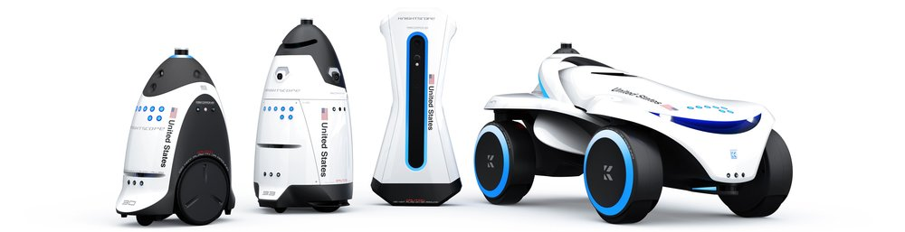 Fully Autonomous Knightscope Security Robots