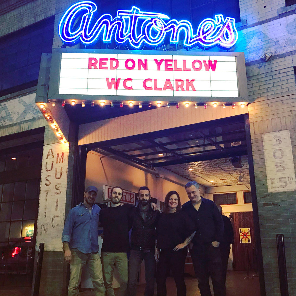 Red On Yellow performs at Antone's Nightclub to a standing-room-only crowd. January 2019