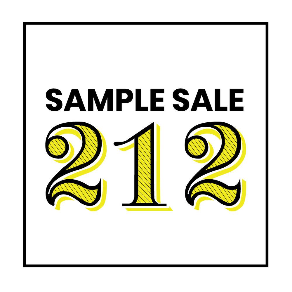 Sample SALE 212 -
