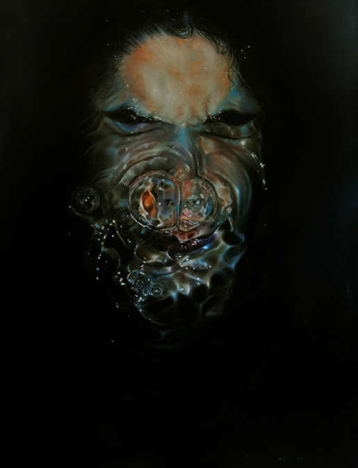 Pain  oil on canvas  45-1/2 x 35 inches (115.5 x 88.9 cm)  $5,500