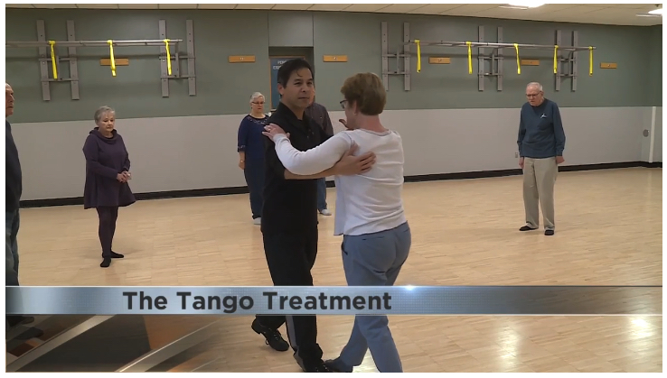 WKOW 27 did a brief segment on the PD Tango classes happening in Madison -  click here  to watch