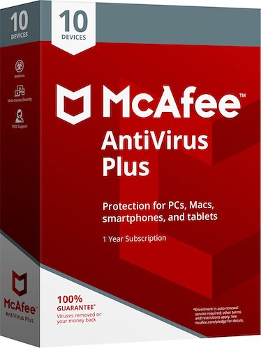 YOU'RE THE VIRUS, MCAFEE!