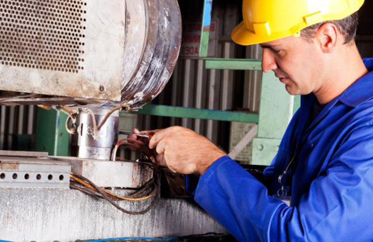 millwright - A millwright is a tradesperson who installs, maintains and repairs stationary industrial machinery and mechanical equipment.